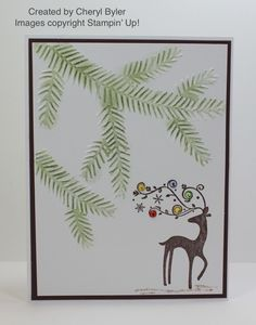 Merry Christmas!!! I'msharing a few projects created by some of my very talented Stampin' Up! team members with you all again today as well as two projects created by a couple of my customers and…