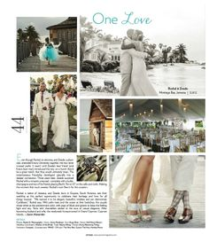Uptown Magazine features Jamaica wedding by Nadia D Photography