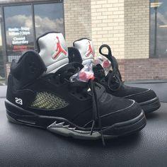 Metallic 5s kids size Jordan Shoes Athletic Shoes