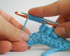 How to Crochet: Bullion Stitch Ah so there is a trick to it! I've always had trouble with this stitch - my tension is quite firm and I can never pull the crochet hook through