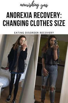 Anorexia Recovery: Changing Clothes Size | Nourishing Yas - Simple Plant based Recipe  #anorexiarecovery #edrecovery #recoveryinspo #mentalhealth #eda #recovery #anorexia #eatingdisorder #ed #eatingdisorderrecovery