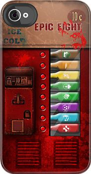 This phone case is great! Zombie perk-a-cola machine