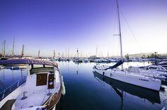 In total 620 aanlegplaatsen in de haven van Moraira.