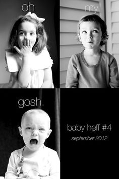 the most adorable kids! and....the most adorable announcement ever!!! love love love it! congrats, heffernan family!