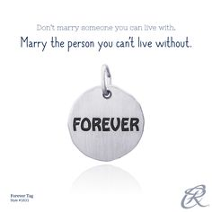 """""""Don't marry someone you can live with. Marry the person you can't live without."""" #CharmStory"""