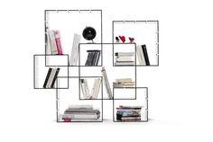modern wall shelf Konnex Shelf Design By Müller Möbelwerkstätten Modular Shelving, Shelving Systems, Modular Storage, Shelving Ideas, Bibliotheque Design, Etagere Design, Creative Bookshelves, Regal Design, Shelf System