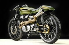 Honda CB450 Cafe Racer 1973 by Hangar Clycleworks #motorcycles #caferacer #motos |