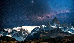 Patagonia Zachwycające zdjęcia nocnego nieba i Drogi Mlecznej widzianej z Ziemi - Joe Monster