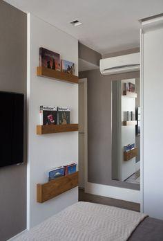 Apartamento Botafogo Bezamat Arquitetura (Foto: Denílson Machado / MCA Estúdio/ divulgação)