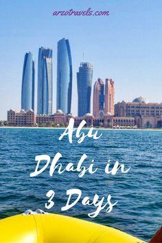 Things to do in Abu Dhabi, Emirates.