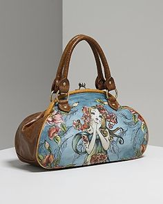Hand painted bag...love it...wouldn't wear it  but love that it's hand painted...so awsome