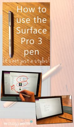 How to use the Surface Pro 3 Pen