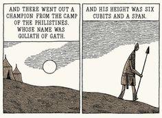 Tom Gauld's Goliath