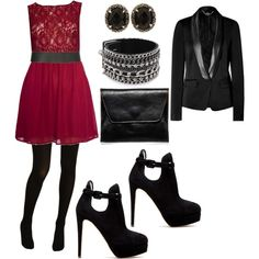 Polyvore holiday luxe