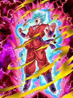 Dokkan Battle: SSB Kaioken Goku! by sonichedgehog2 on DeviantArt
