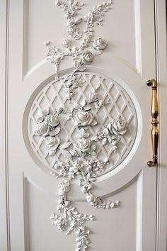 ideas kitchen interior design decor barn doors for 2019 Plaster Art, Plaster Walls, Plaster Crafts, Decor Interior Design, Interior Decorating, Interior Ideas, Decorating Ideas, Door Design, House Design