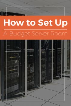 As your small business expands, your data management needs will eventually outgrow your main network setup and require a suite of servers to handle the increased influx of information. That means setting up a server room that meets your needs without putting you in a financial bind. From equipment selection to cable management, there are many ways to save money as you design this designated space for hardware.
