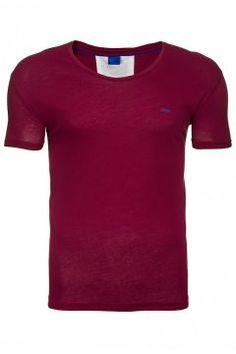 JOOP T-Shirt Kurzarm Herren Freizeitshirt Rot 230418 https://modasto.com/joop/erkek-ust-giyim-t-shirt/br2376ct88