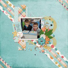 Blow em out - digital scrapbook layout    Credits:  Make a Wish Grab Bag by Luv Ewe Designs & Blue Heart Scraps  @Gingerscraps     http://store.gingerscraps.net/Make-A-Wish-Grab-Bag-by-Luv-Ewe-Designs-and-Blue-Heart-Scraps.html