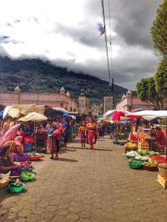 Mercado de Santa Maria de Jesus, Sacatepequez..
