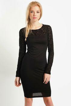 372052cf259ff koton siyah renk dantelli kısa elbise, koton 2014 #koton #elbise #2014
