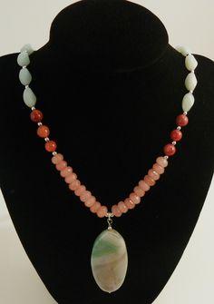 #Necklace by Coreina~L Jewelry www.coreinaljewelry.etsy.com