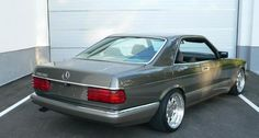 Mercedes Benz 500SEC W126 on Brabus Monoblock III