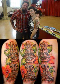 Star Wars totem pole #tattoo!  (via Neatorama)