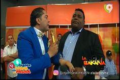 El Pacha le da tremenda pela e' lengua a Jhon Berry por escenas en el programa de Más Roberto