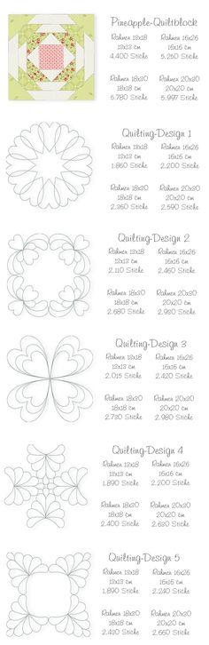 Der Stickbär   Designs und Inspiration