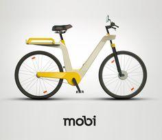 Mobi bicycle rental by Lucas Neumann de Antonio