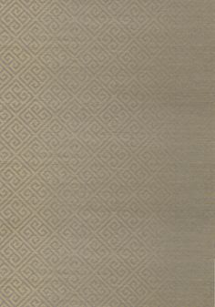 MAZE GRASSCLOTH, Metallic Gold on Grey, T41200, Collection Grasscloth Resource 3 from Thibaut