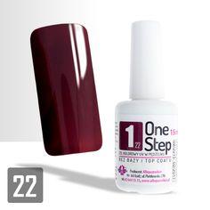 """Allepaznokcie """"One Step"""" Color Gel UV/LED 3in1 #22"""