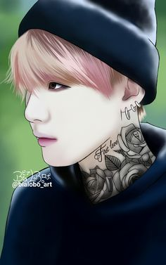 Suga BTS fanart byBiaLobo #suga #bts #bangtan #bangtanboys #btswings #tattoo #necktattoo #min #yoongi #minyoongi #kpop #btsfanart #btstattoo #bighit #fanart #design #draw #drawings #drawing #digital #art #artwork #koreanfanarts #wallpaper #wallpaperiphone #artist #digitalartwork #digitalartist #deviantart #sketchbook