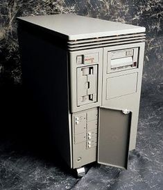 1985 - The MicroVAX II was based on a single, quad-sized 32-bit processor board and contained the MicroVAX chip (which included memory management). The machine featured a floating-point coprocessor chip, 1MB of on-board memory, Q22-bus interface, Q22-map for DMA transfers, interval timer, boot and diagnostic facility, console serial line unit and time-of-year clock.