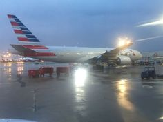 American Airlines 777-200 Chicago O'Hare