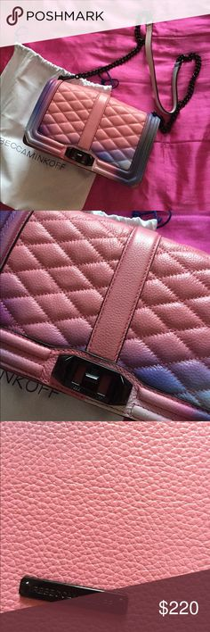 New authentic Rebecca Minkoff Graffiti Love purse New authentic Rebecca Minkoff graffiti Love purse.  I don't accept offers for this one, thank you! Rebecca Minkoff Bags Crossbody Bags