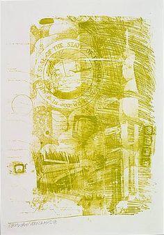 Robert Rauschenberg - Marsh (From the Stoned Moon Series) - 1969