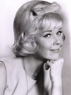 doris day---so pretty and talented. Her movies make me smile.
