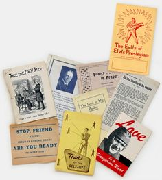 Vintage Christian Tracts