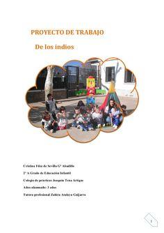 Proyecto de trabajo de indios