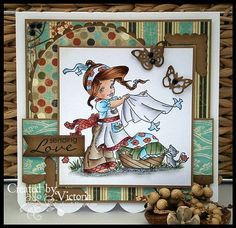 Cute Cottage Cuties ~ Whimsy Stamps