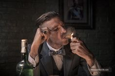 Peaky Blinders - Publicity still of Paul Anderson