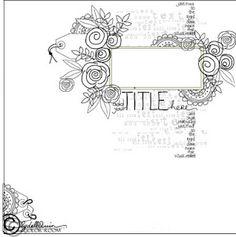 **doodling idea to incorporate artwork***