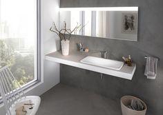Dieses Waschbecken besticht durch sein einfaches, gradliniges Design. Was gefällt dir? Was wünschst du dir für dein Badezimmer? Erstelle jetzt deinen Wunschzettel auf www.wohn-dir-was.de  Bildmaterial (c) KEUCO