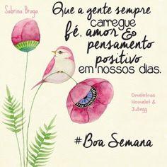 Ateliê Lucia Cabete: # Boa Semana