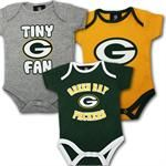 Packers Infant Team Body Suits