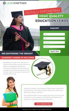 Education Landing Page 1