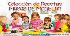 Imágenes para manualidades: Recetas de Masas para modelar Preschool Programs, Home Schooling, Sensory Activities, Mommy And Me, Beach Mat, Decoupage, Diy And Crafts, Homeschool, Outdoor Blanket