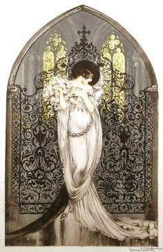 Louis Icart - Illustration - Tosca- 1928